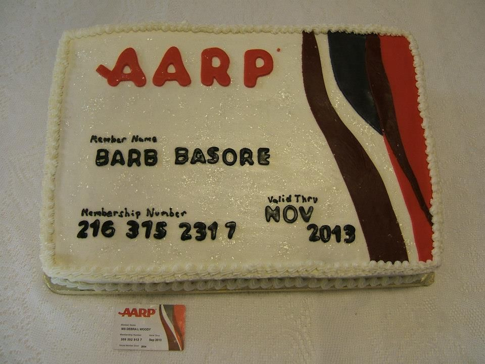 Aarpidea for moms cake cake idea 65th birthday