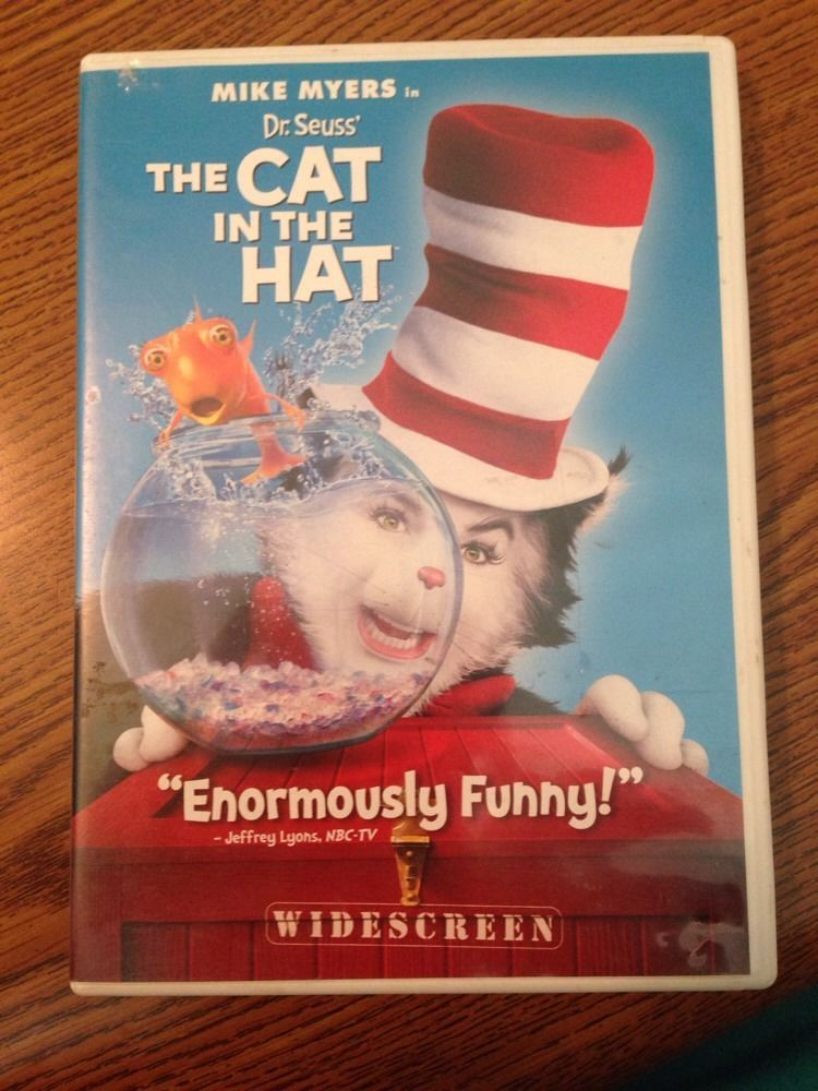 5b155279 Dr. Seuss' The Cat in the Hat (DVD, 2004, Full Frame Edition ...