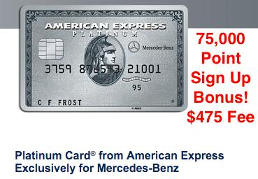 75 000 Bonus American Express Platinum Mercedes Benz The Reward Boss American Express Platinum Mercedes Mercedes Benz