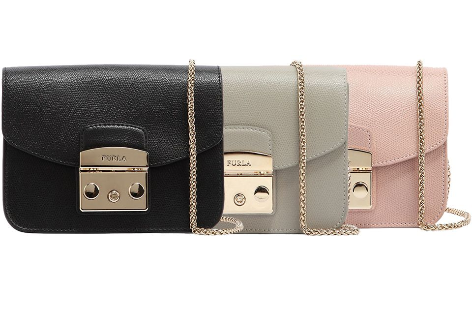 The Furla Bag Has Size Like Chanel Classic Mini Square Most Important Component Is Signature Clasp Read More