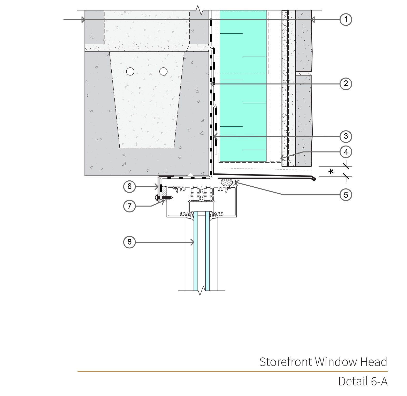 Assembly 6 Detail 6a Masonry Veneer Masonry Concrete Masonry Unit
