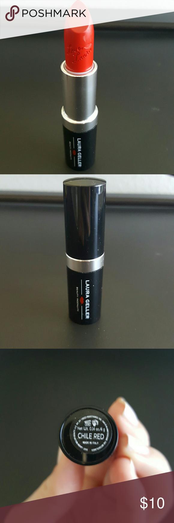 Laura Geller lipstick brand new, never used Chile Red Laura Geller lipstick brand new laura geller Makeup Lipstick