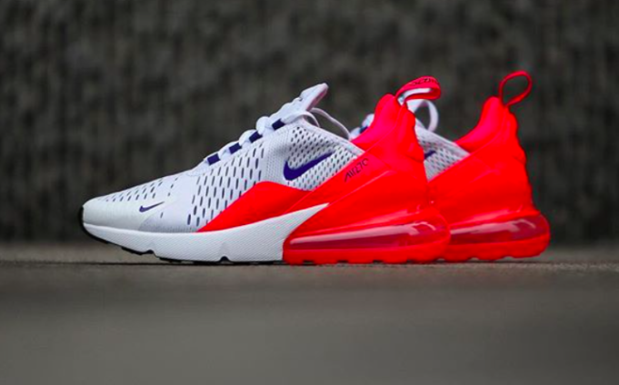 Nike WMNS Air Max 270 Ultramarine Solar Red AH6789 101