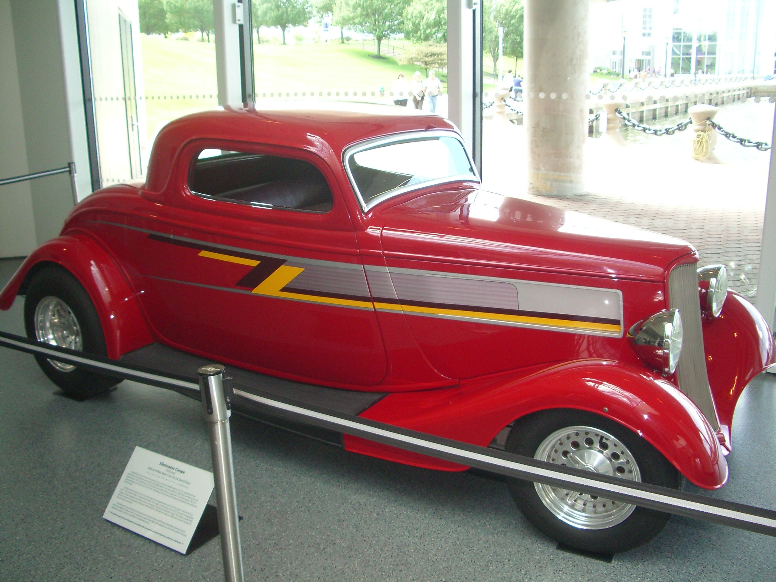 This zz top eliminator hot rod seems like the kind of car that a ...