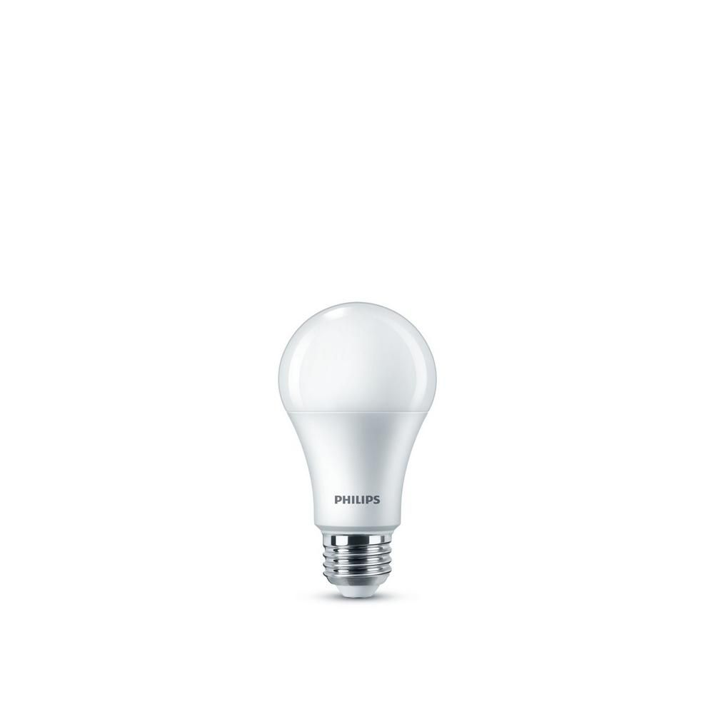 Philips 100 Watt Equivalent A19 Dimmable Energy Saving Led Light Bulb Daylight 5000k 8 Pack In 2020 Light Bulb Save Energy Bulb