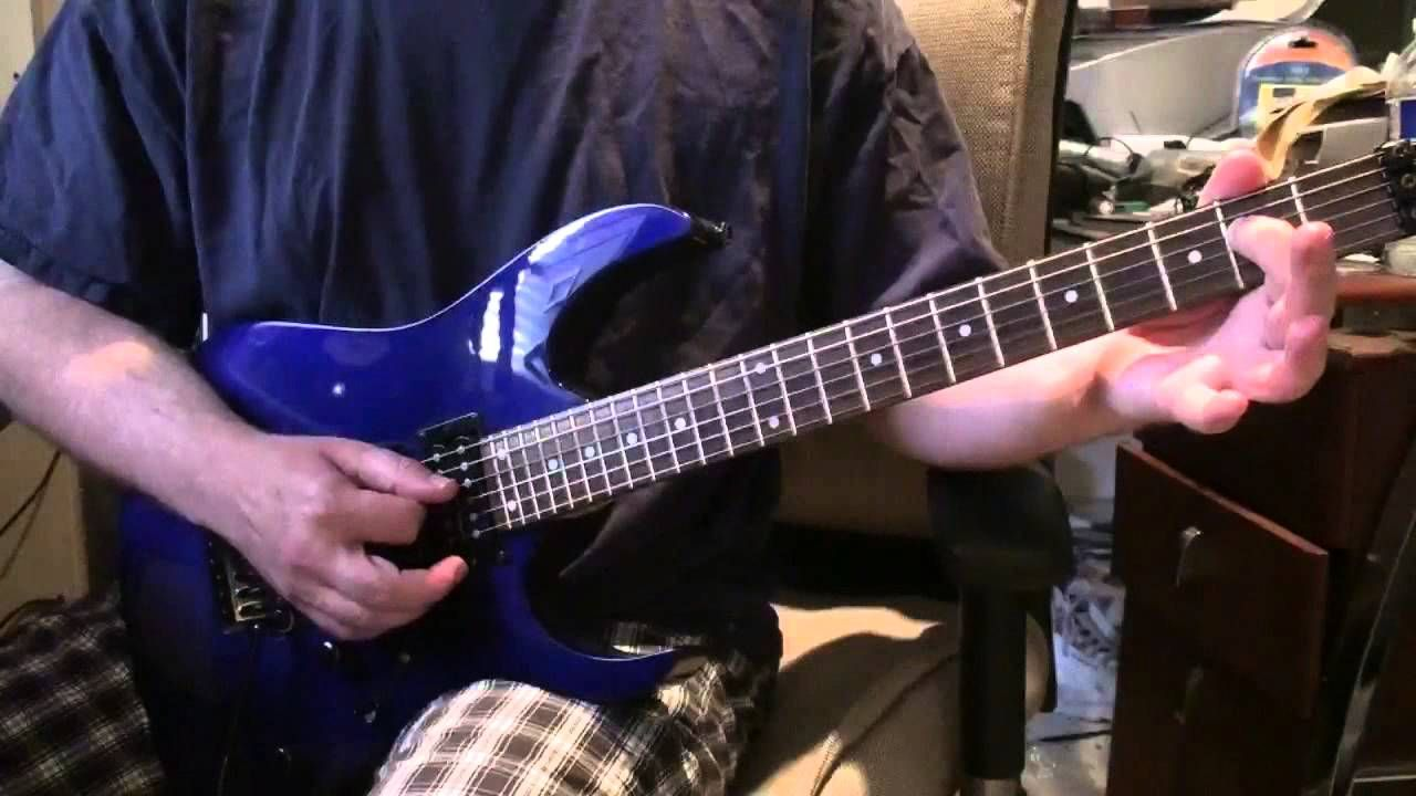 how to play take it easy lead on guitar