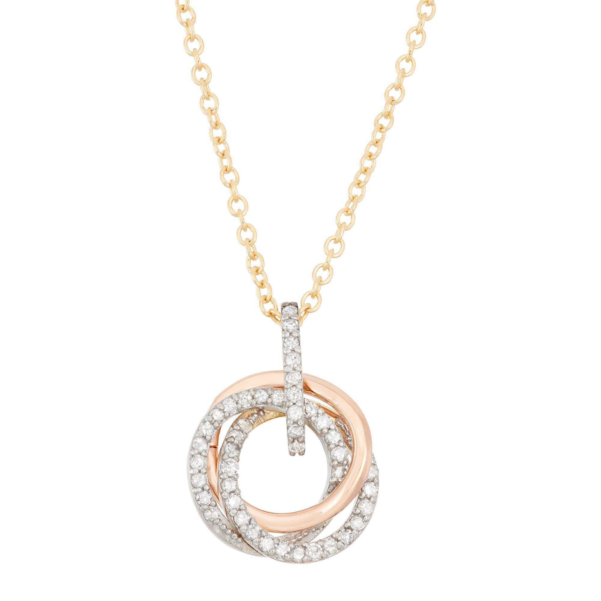 baguette itm tw white diamond necklace round gold ct