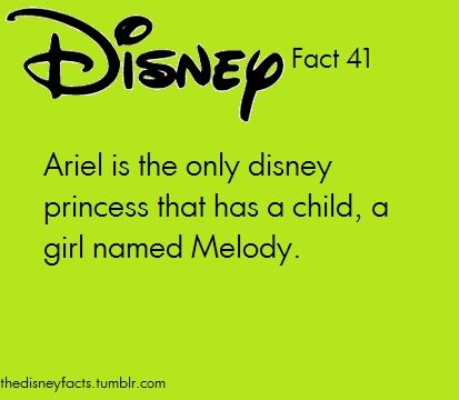 You can take this the Disney way, or the   nerdy way! Obviously Ariel is Amy Pond and Prince Eric is Rory and they had a   baby named melody! It all makes sense now!