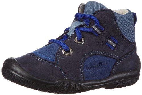 Superfit Softtippo - Zapatillas de Running de Piel Bebé-Niñas, Color Gris, Talla 19
