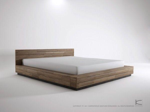 Low King Bed Low Bed Frame King Bed Frame Bed Frame