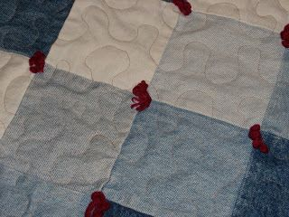 Sew in Peace: Jean Quilt Makeover