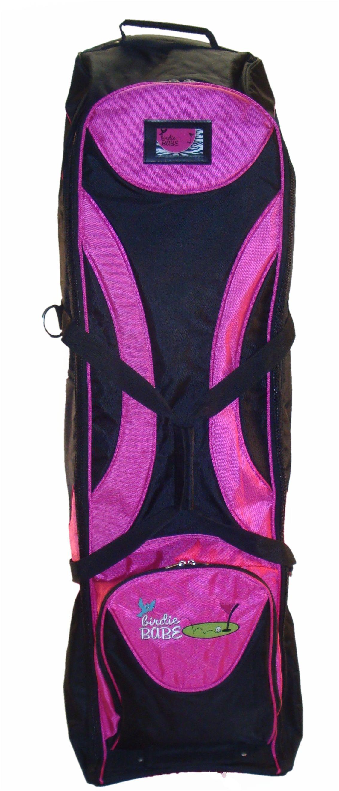 Hot Pink Golf Travel Bag Las Clubs Bags