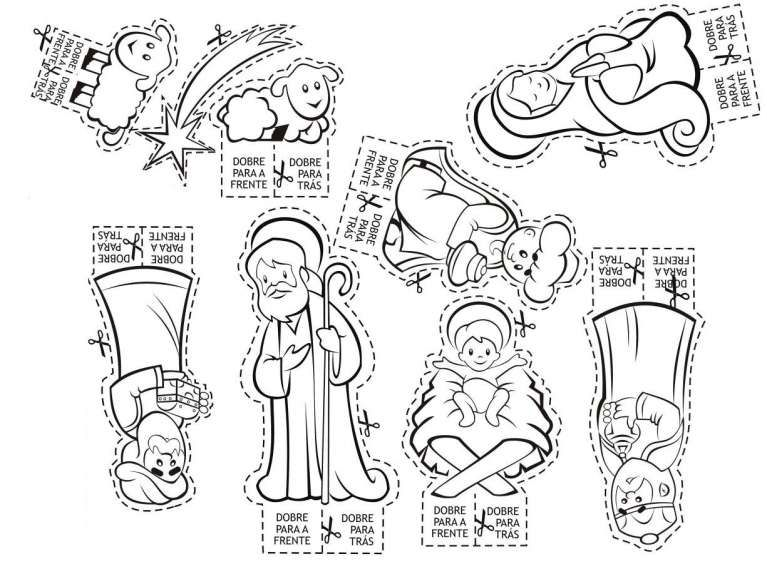 Pin Su Christmas Nativity