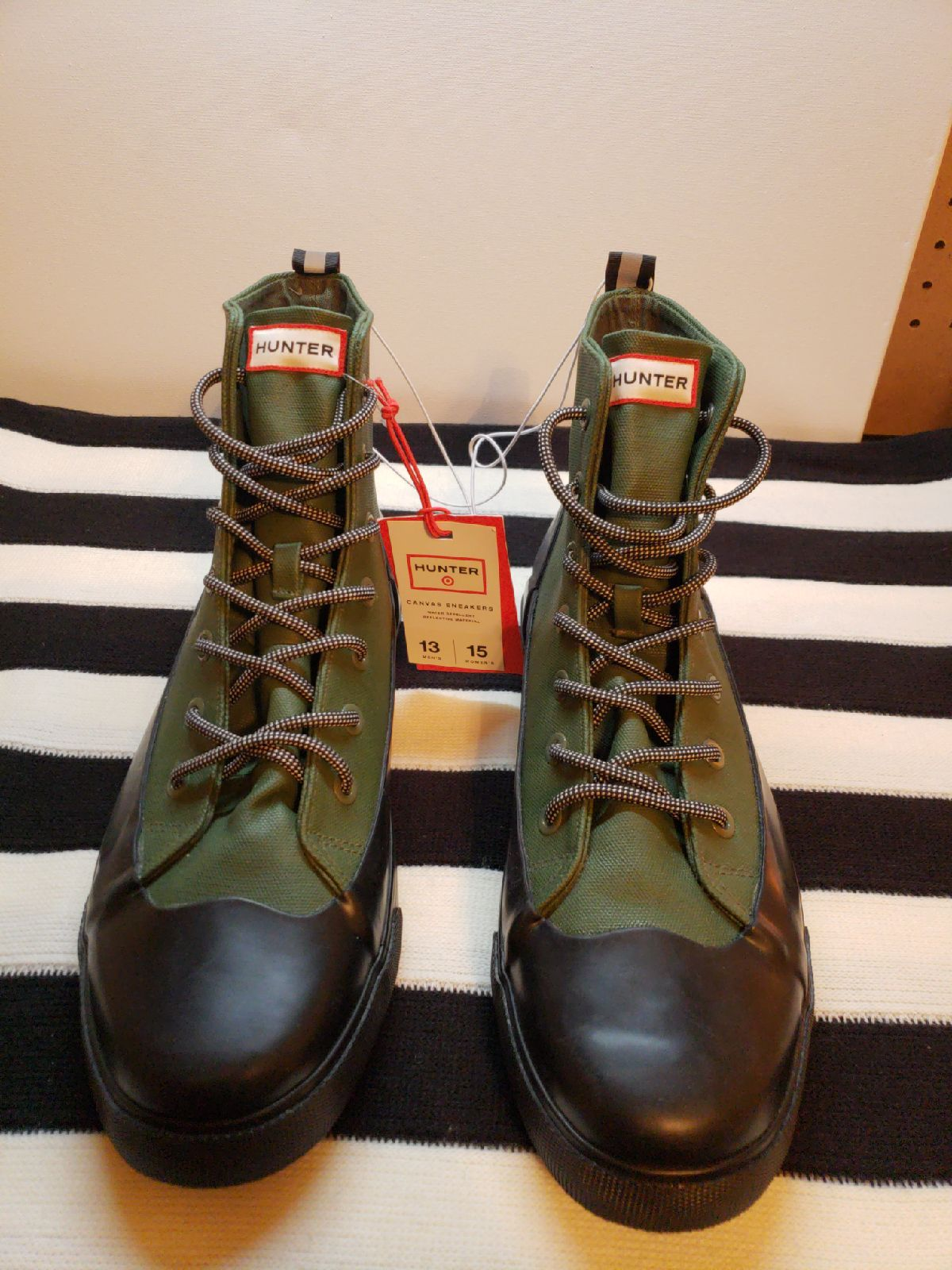 Hunter Target Sneakers Boots New 13 15