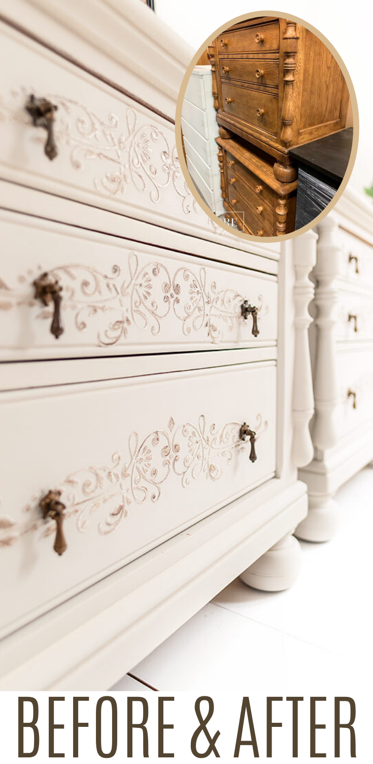 Photo of How To Apply Stencil Texture to Painted Furniture