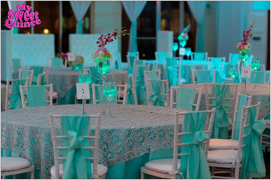 table setup at sweet sixteen & table setup at sweet sixteen | Table Settings/Decorations ...