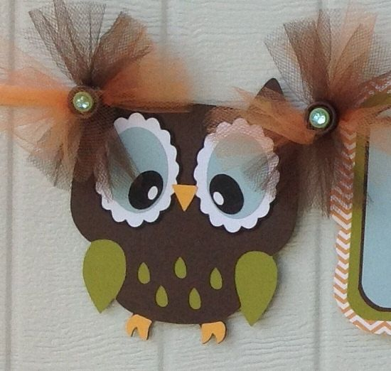 Owl Baby Shower Gender Neutral Banner By