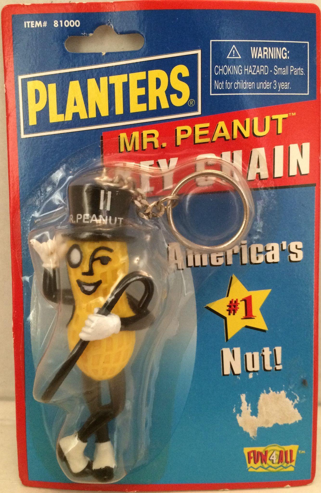 (TAS012349) - Fun 4 All - Planters Mr. Peanut Keychain