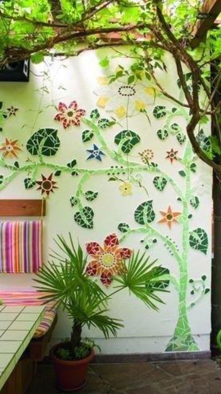Pin by rebecca raney on art pinterest mosaics gardens and craft