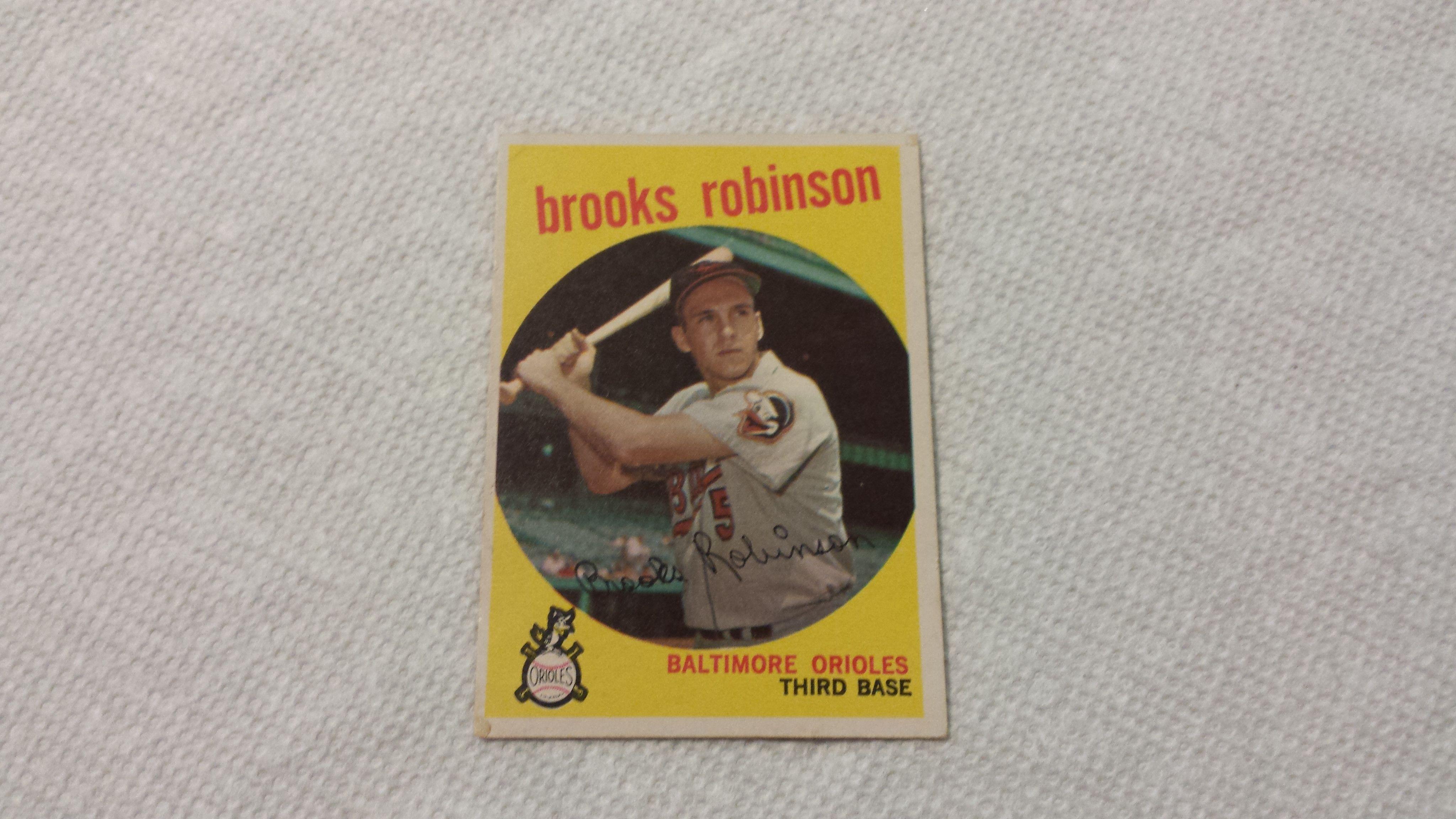 Park Art My WordPress Blog_Brooks Robinson Baseball Card 1961