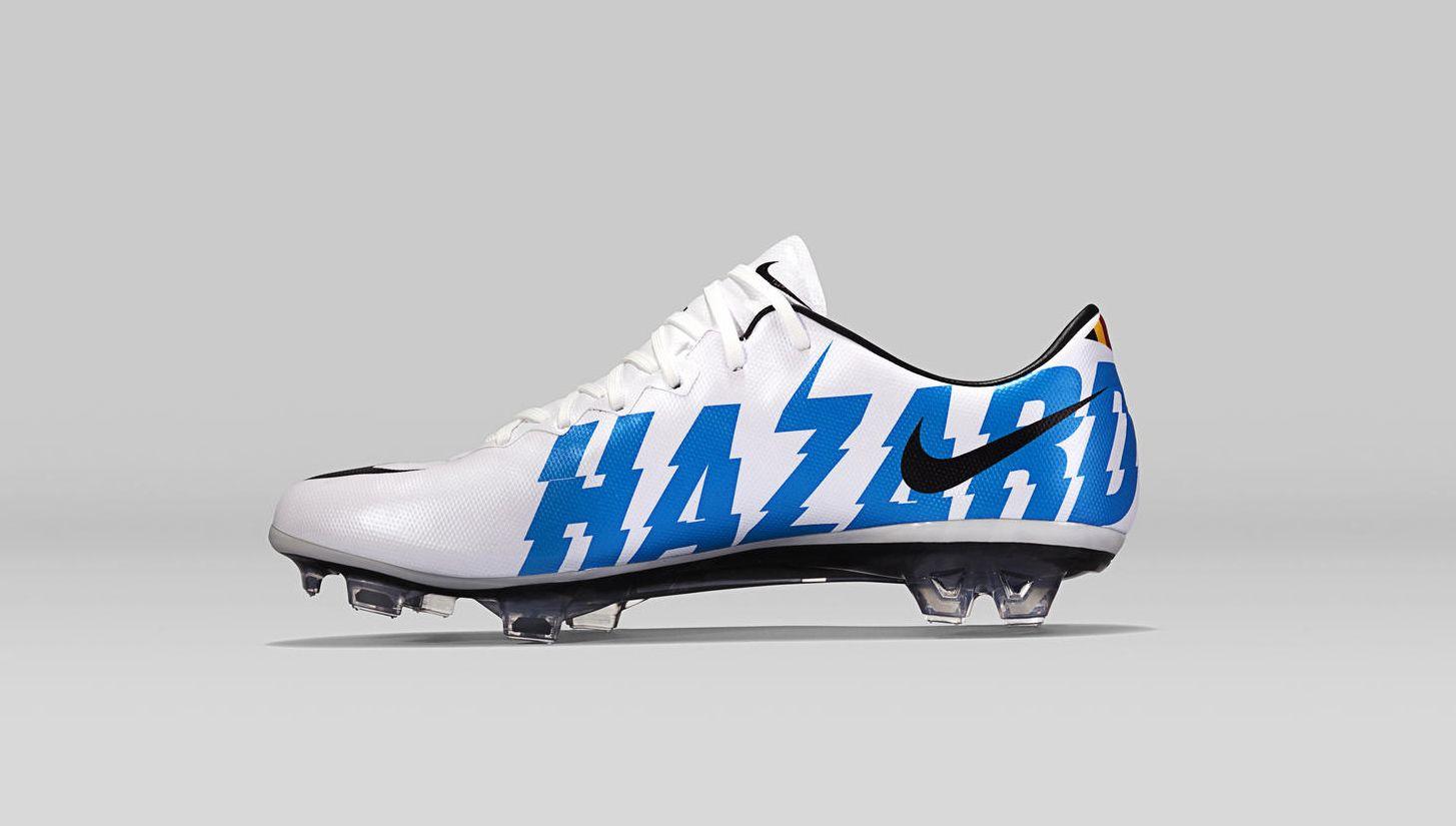 d081d9f0b8497 Nike x Eden Hazard Mercurial Vapor X | Football and Chelsea ...