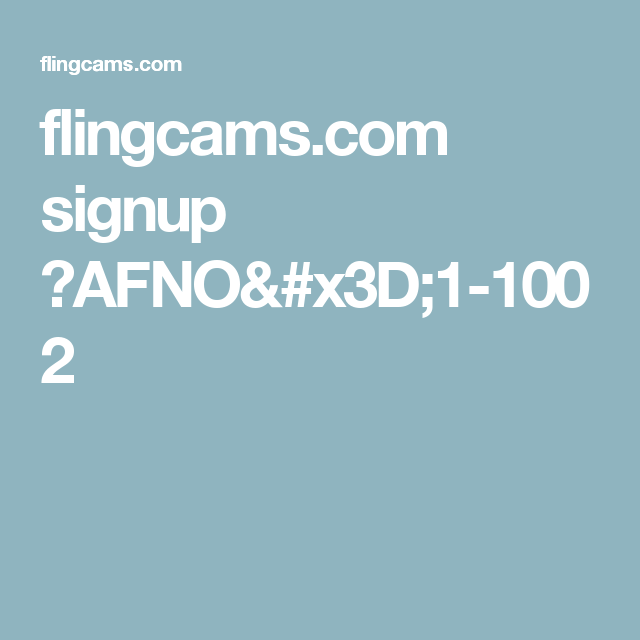Flingcams com