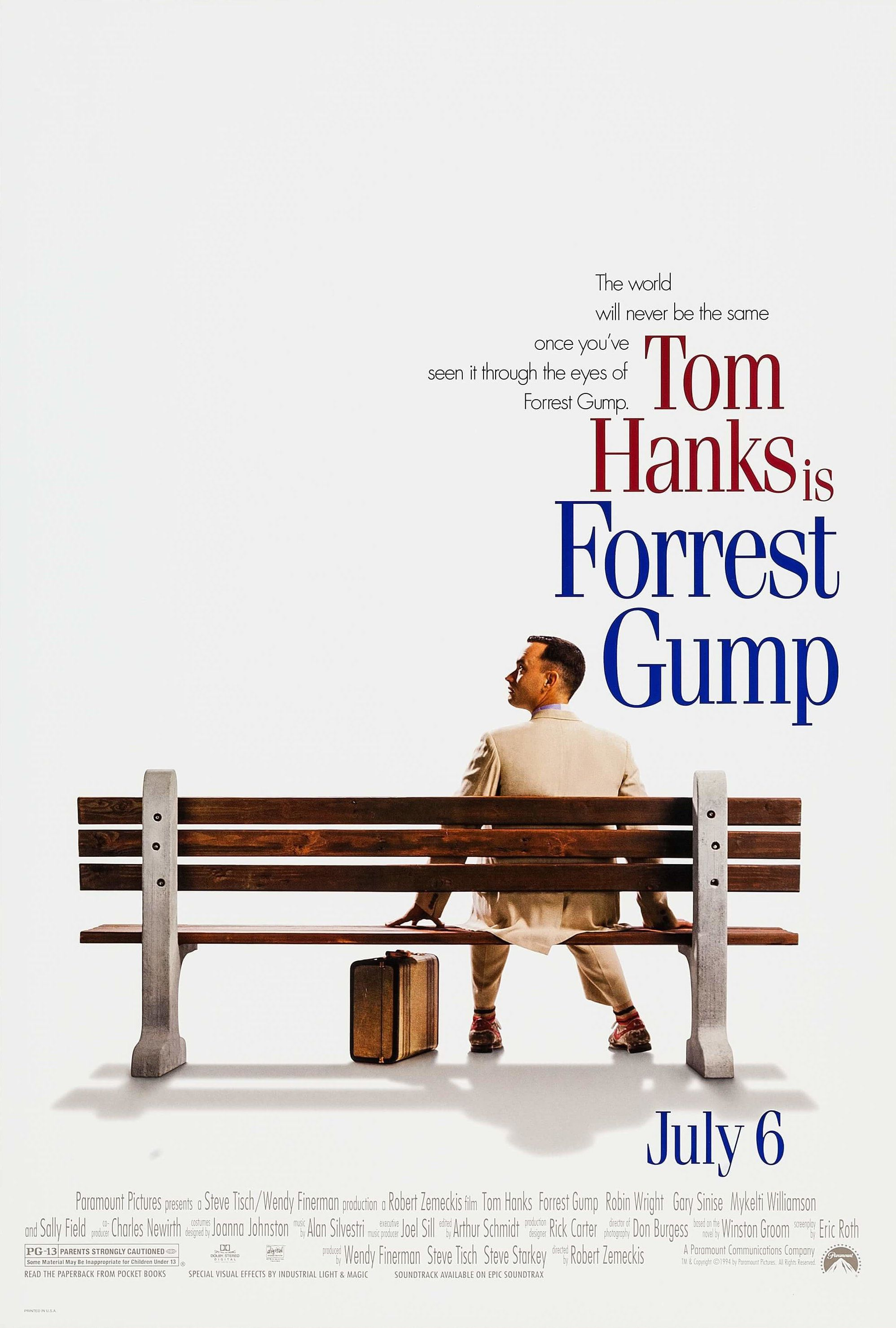 In My Opinion One Of The Best Movies Ever Made Forrest Gump