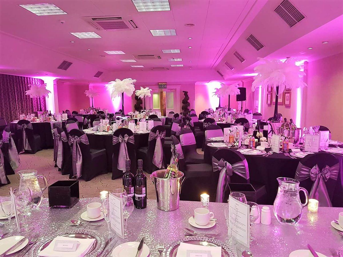 Crieff Hydro Wedding Reception by Eze Events (@EzeEvents) on Twitter ...