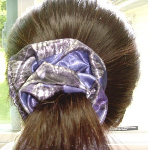 Camo Purple True Timber Hair Scrunchies, silk, country chick, Classic Hair accessories for women/teenager/Child  My Scrunches make a great
