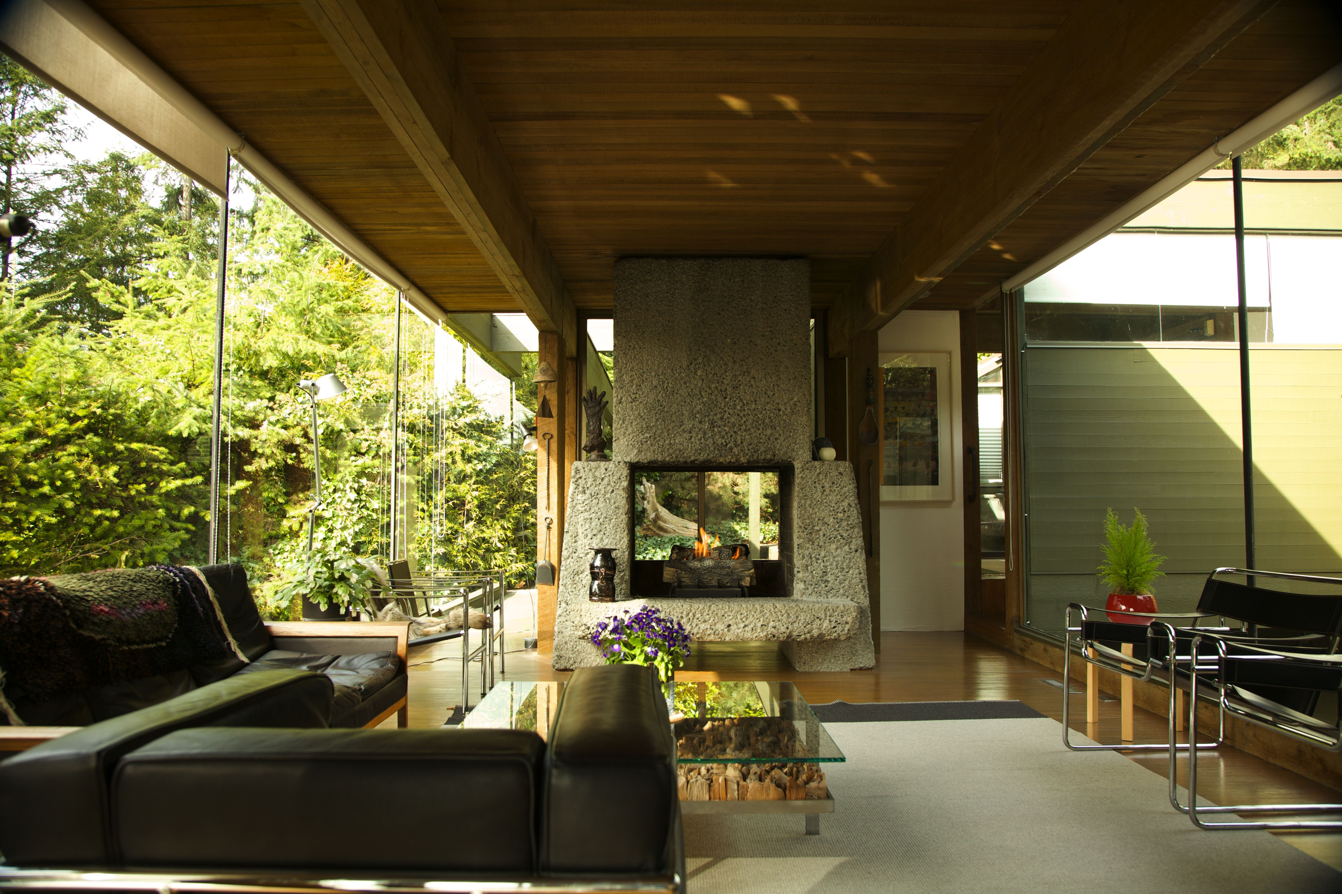 West vancouvers 1964 smith house designed by arthur erickson geoffrey massey