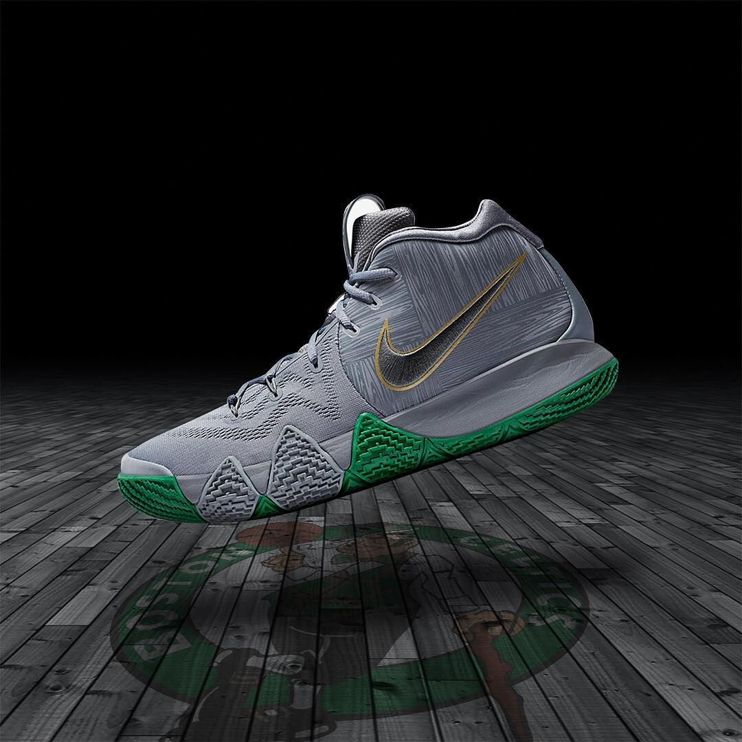 1351d79927c6 The  Nike Kyrie 4  Parquet Legends  is in stores and online. Stores   footlocker.com launch