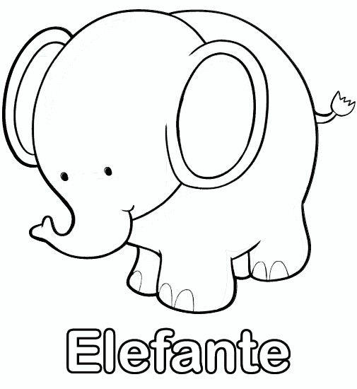 Elefante | All things nursery | Pinterest | Elefantes, Dibujos ...