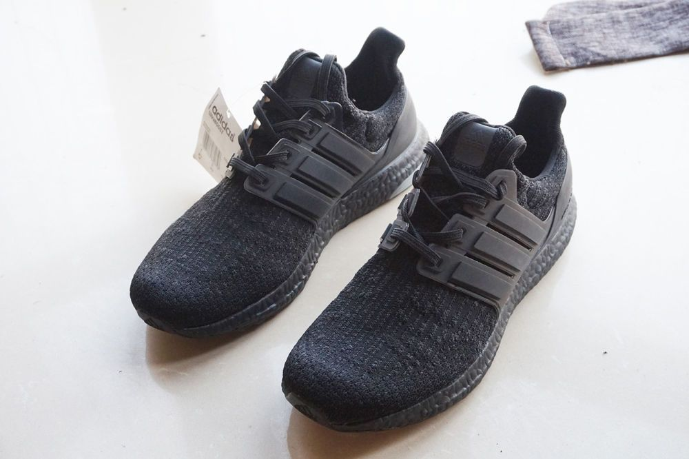 07d91d968bd Size 8.5 Brand New Adidas Ultra Boost 3.0 Triple Black BA8920 Men s Running  Shoe  fashion