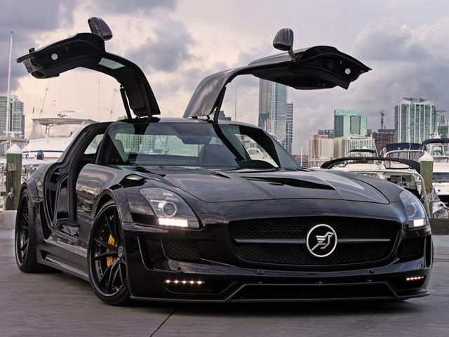 Hamann Widebody Mercedes Sls Amg On Hre Wheels In 2020 Mercedes
