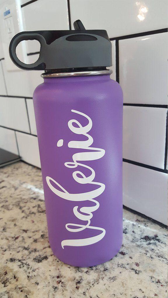 Custom Name Bottle Flask Water Bottle Water Bottle