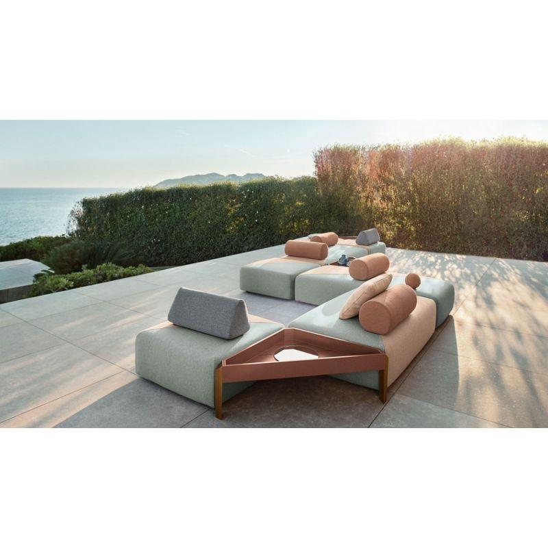 DEDON BRIXX Outdoor Loungegruppe, Gartensofa Loungemodule | DEDON ...