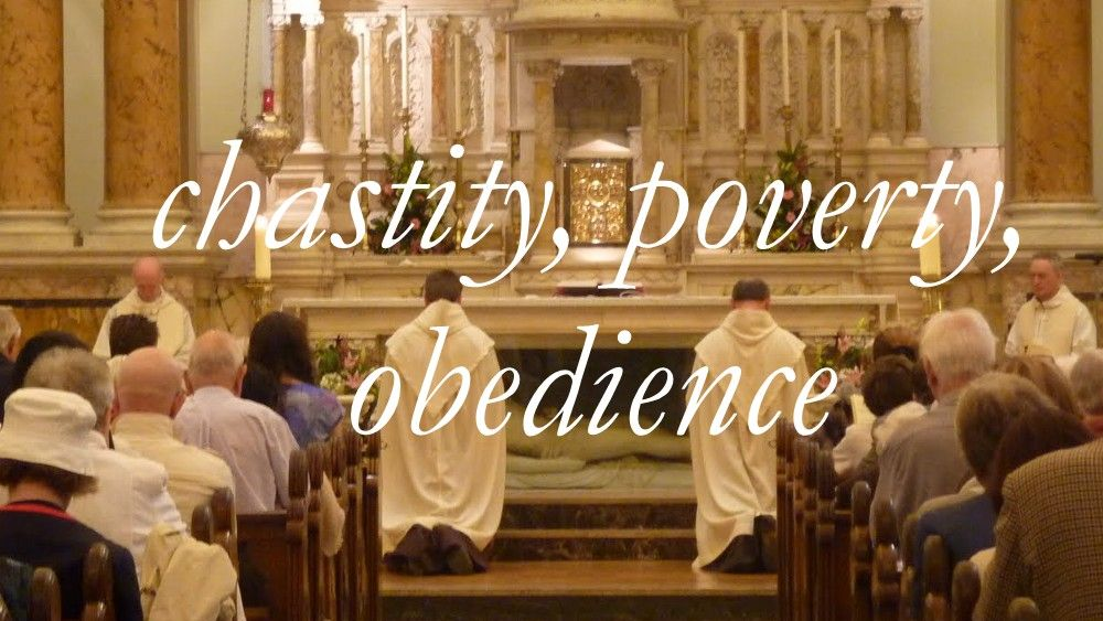Catholic teaching Those who are ordained must take the