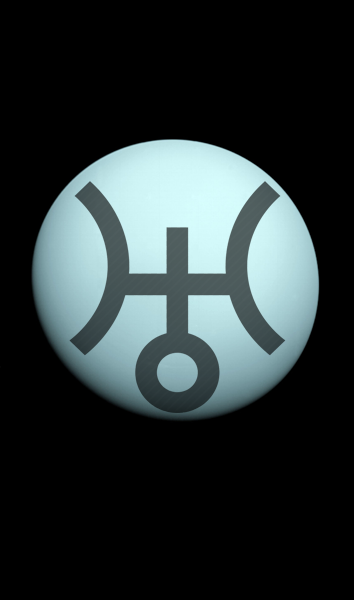Uranus Astronomical Symbols Main Planets Solar System Dwarf