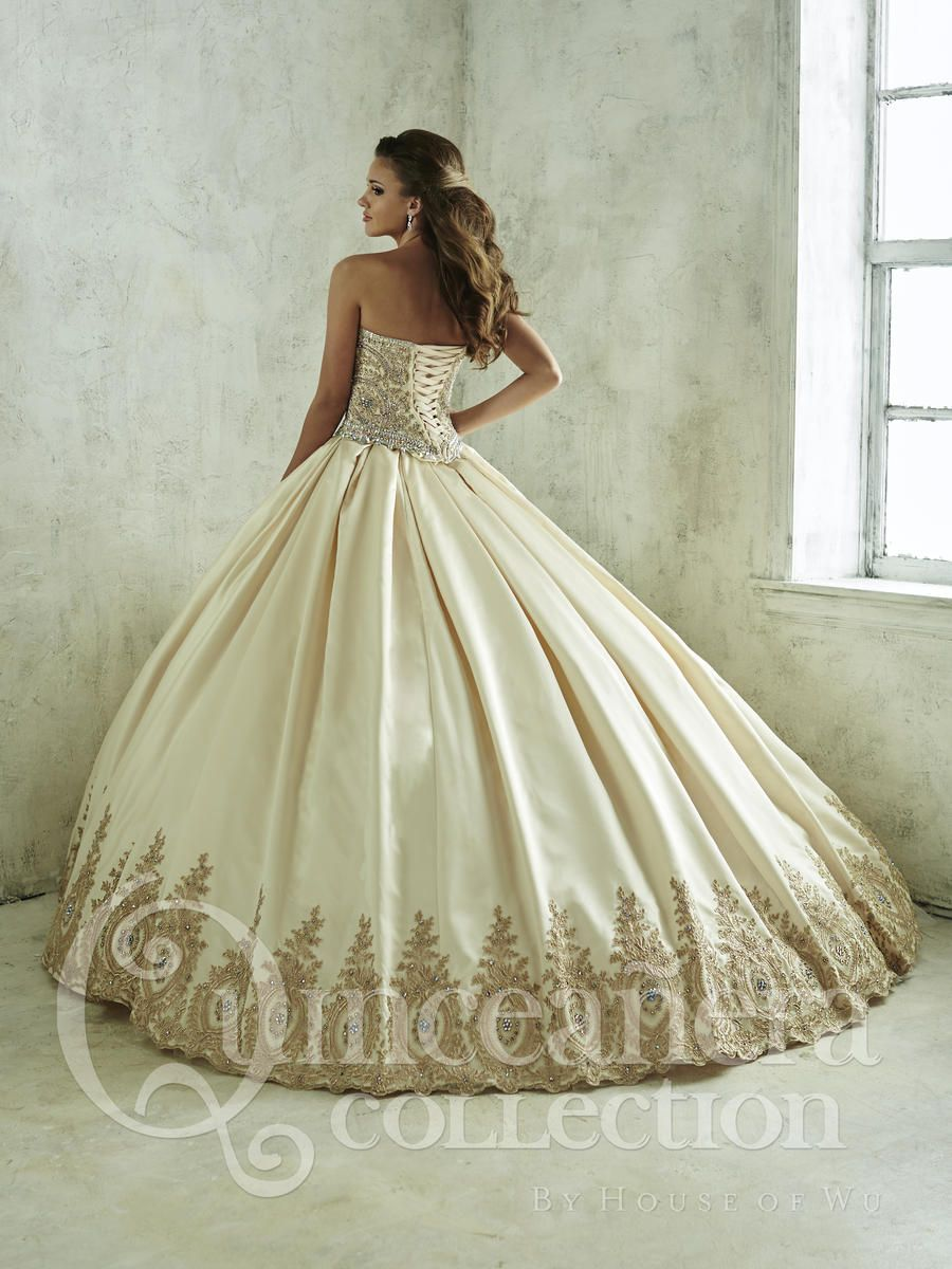 1fe57eceac House of Wu 26826 Long or Short Quinceanera Dress - French Novelty