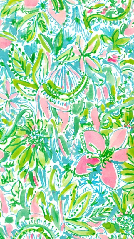 Lilly Pulitzer Coconut Jungle.