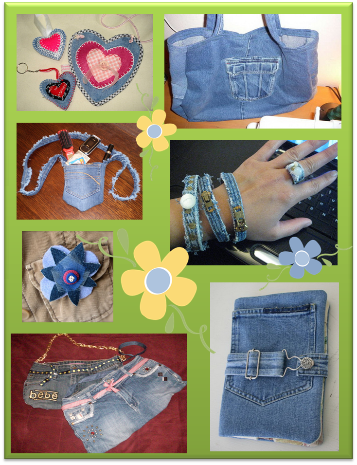 Ideas para reciclar jeans