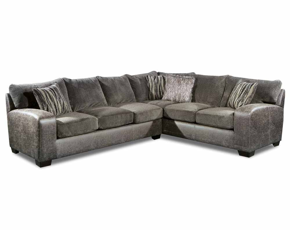 Best Wesley Smoke 2 Pc Sectional Sofa Sectionals Living 400 x 300