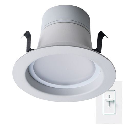 4 Inch LED Smooth Downlight Retrofit Kit Recessed Can Light