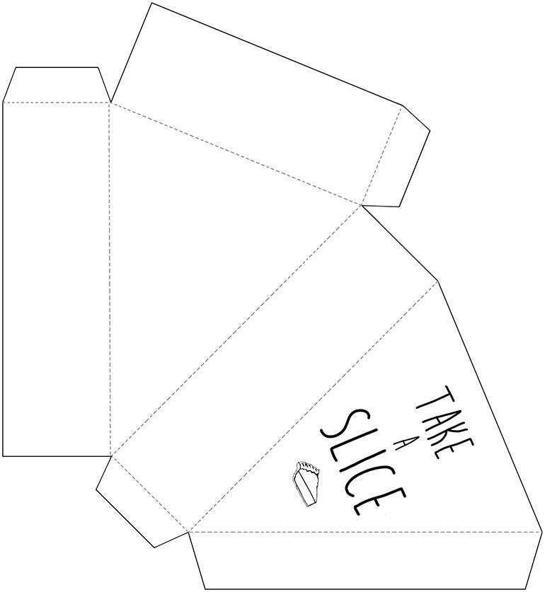 Printable Pie Box Themerrythought