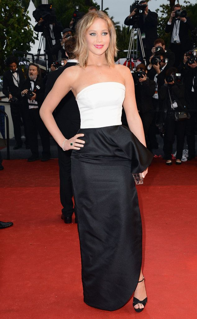 J. Law killing it at Cannes