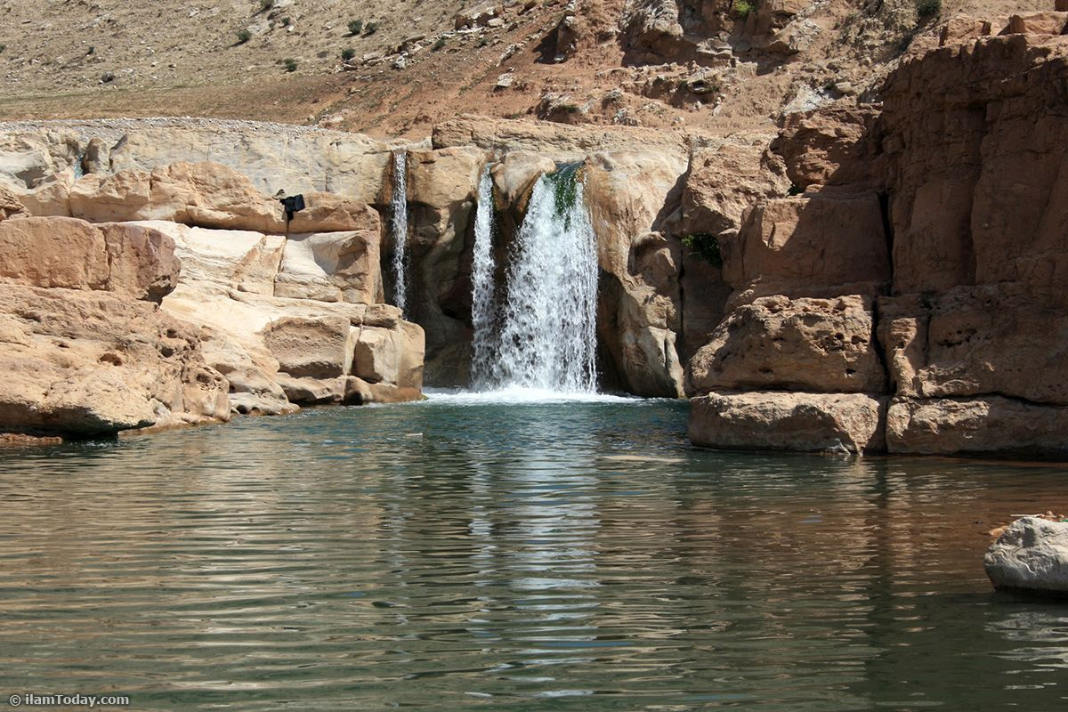 Mahoteh Waterfall Ilam Province Iran In Persian استان ايلام آبشار ماهوته Visit Iran Scenery Tourism