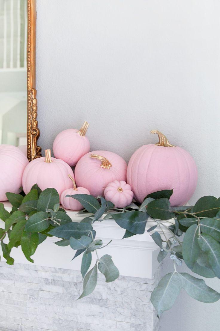 5 Step Ombre Pumpkin Decor Tutorial #falldecor