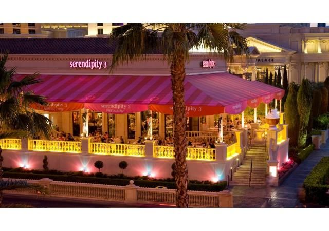 Caesars Las Vegas Dining Casual Serendipity 2 Las Vegas