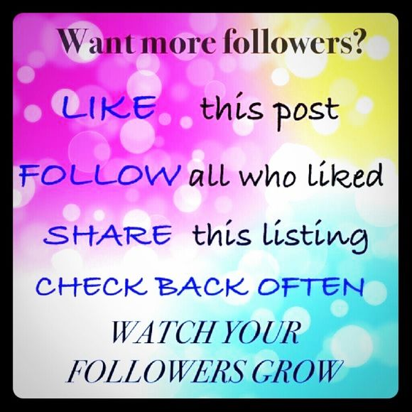 Help me get to 10K!! Please follow!! Poshlove !!❤❤❤❤❤❤ kate spade Other