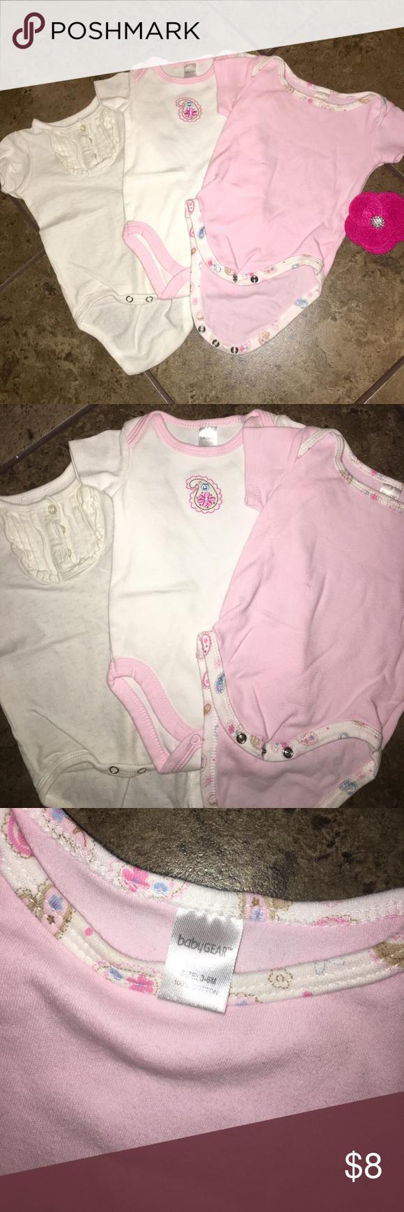 Onesie set Baby girl onesies Excellent condition Sold ...